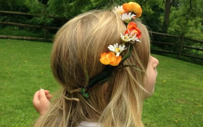 Simple Floral Headband For Kids To Make